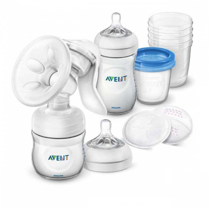Philips Avent Manuālais piena sūknis un uzglabāšanas komplekts SCD221/00 interneta veikalā | Philips veikals