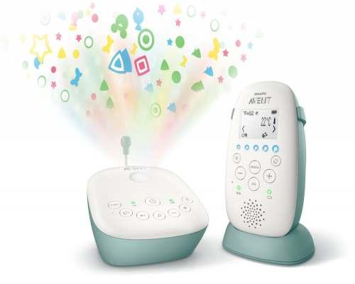 Philips Avent DECT mazuļa uzraudzības ierīce SCD731/52 interneta veikalā   Philips veikals