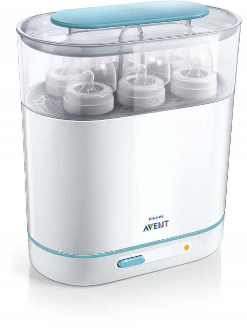 Philips Avent Elektr. tvaika sterilizators trīs vienā SCF284/03 interneta veikalā | Philips veikals