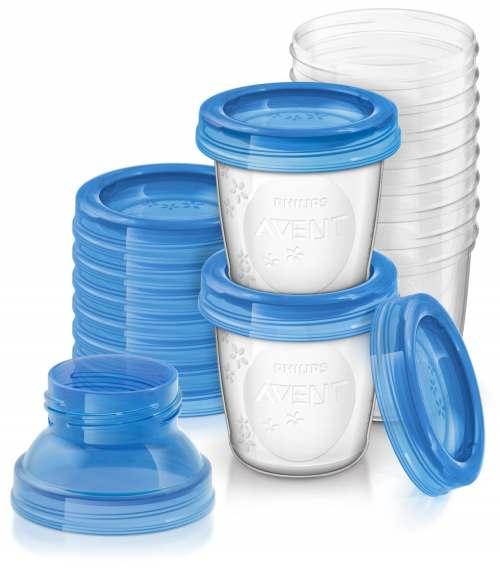 Philips Avent Krūts piena uzglabāšanas trauciņi SCF618/10 interneta veikalā | Philips veikals