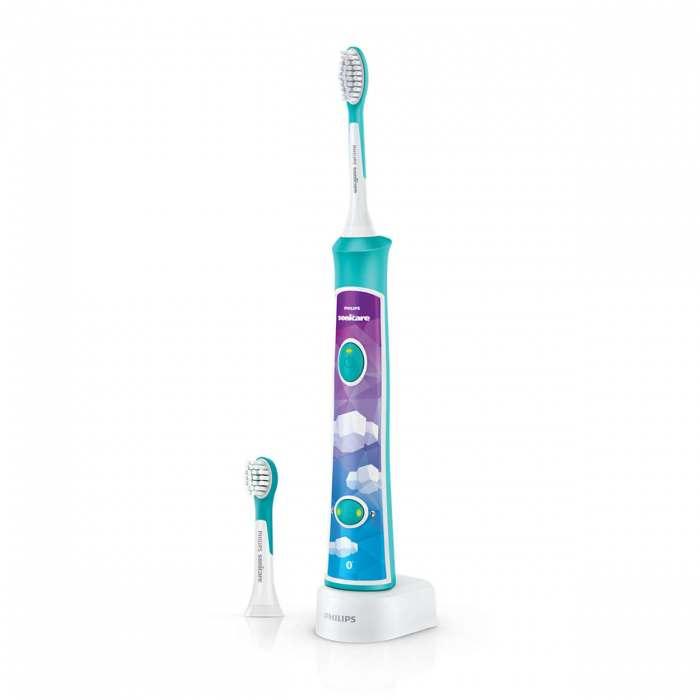 Philips Sonicare For Kids Sonic elektriskā zobu birste HX6322/04 interneta veikalā | Philips veikals